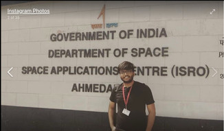 Vipra Goyal in Indian Space Research Research Organization