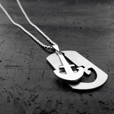 Men's Anchor Necklace