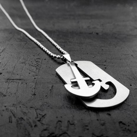 Men's Anchor Necklace