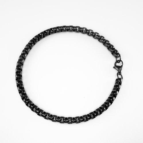 צמיד מתכת אילון - שחור