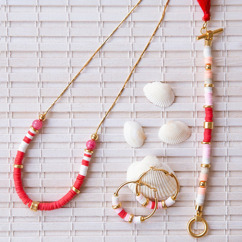סט תכשיטים לאשה, סט מתנה לאישה, סט תכשיטי זהב מתנה, תכשיט צבעוני