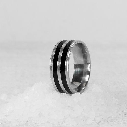 טבעת לגבר -  טבעת פסים מיכאל