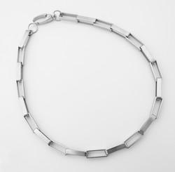 big links silver choker 1
