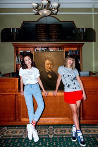 Taisiya Vilkova and Julia Franz for Katya Dobryakova