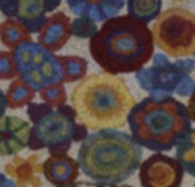 Rug Hooking Wool Fabric