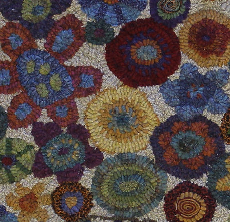 Rug Hooking Wool Fabric