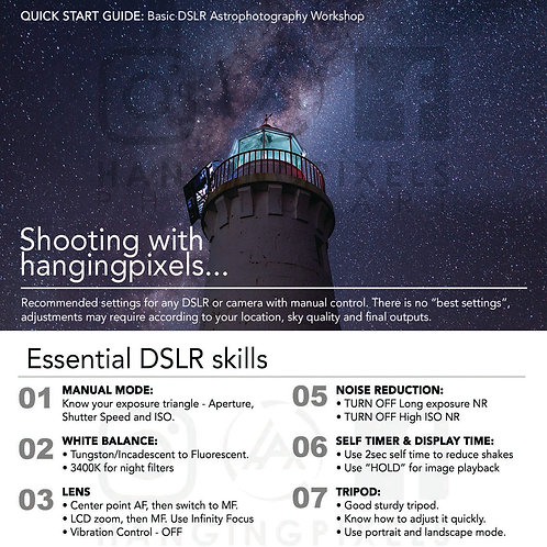 Astrophotography Quick Start Guide