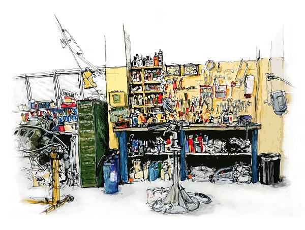 Engine Repair Shop,Wright's Marina