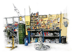 Engine Repair Shop,Wright's Marina