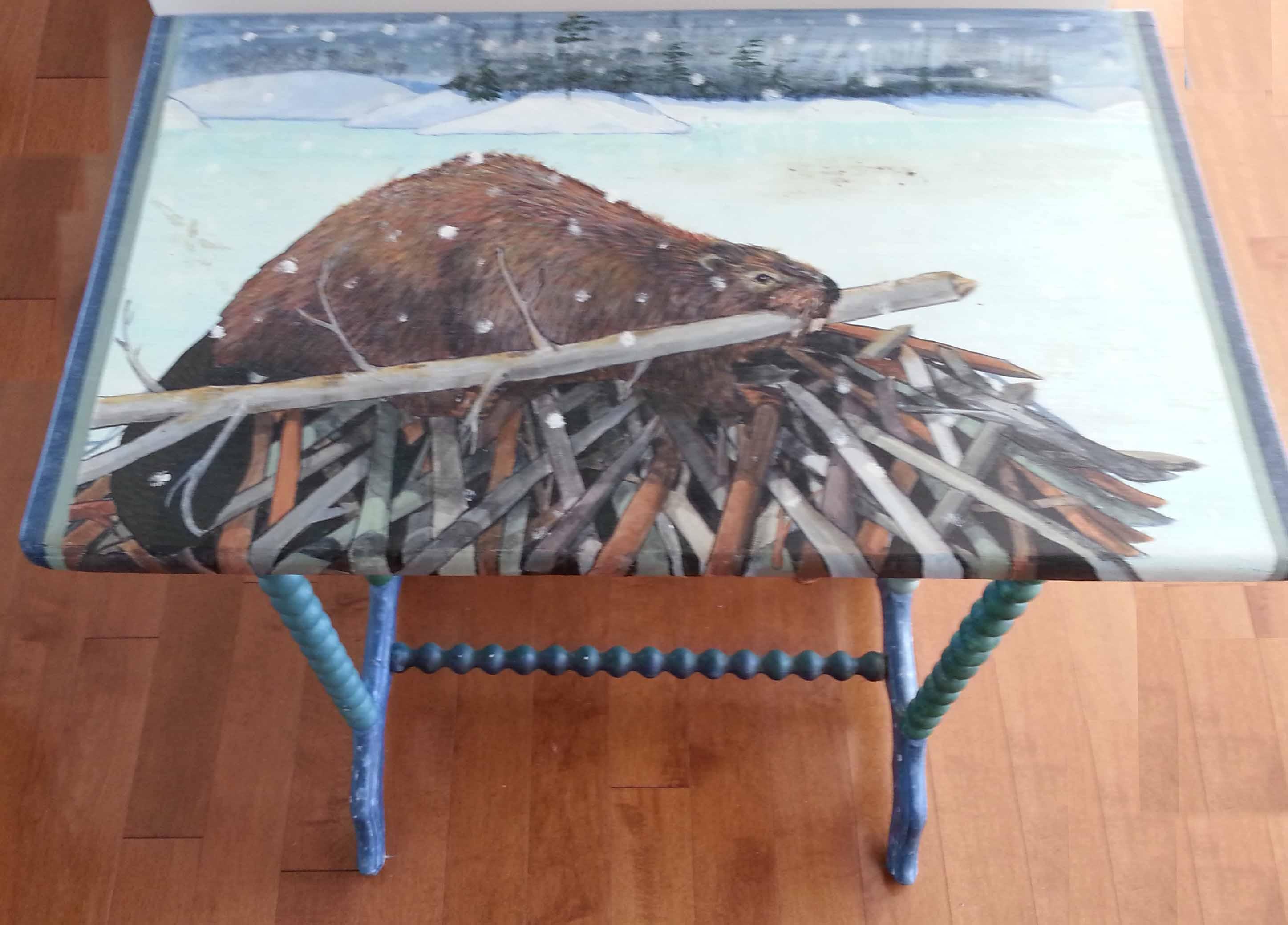 Beaver Lodge table
