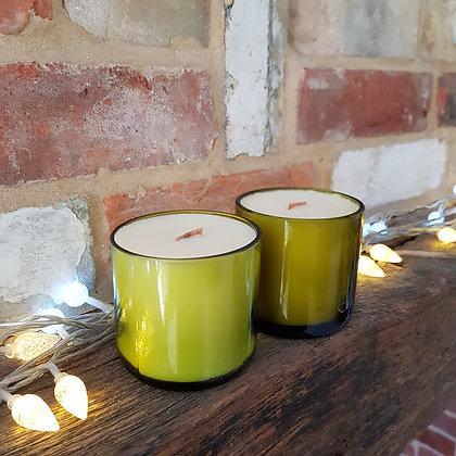 Tumbler Candle : Plum & Rhubarb