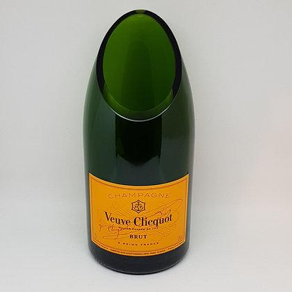 Champagne Magnum Vase - Oblique Cut