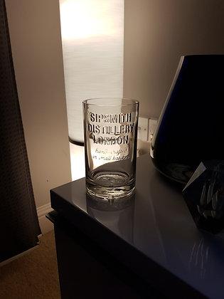 Sipsmith gin vase.