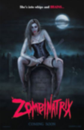 ZOMBINATRIX- She's into whips and BRAINS!