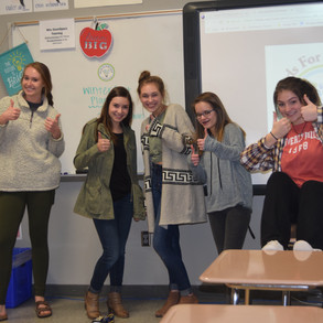 Hands For Holly Fund Club at AKHS