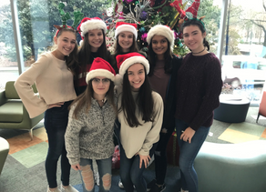 Hands for Holly Club Delivers Holiday Cheer