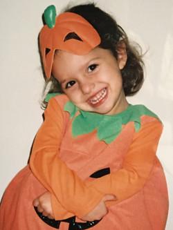 Halloween, age 4