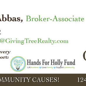 Elizabeth Abbas of Giving Tree Realty joins Hands for Holly Fund as a Corporate Sponsor