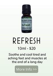 refresh essential oil blend - australian essences
