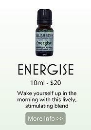 energise essential oil blend - australian essences