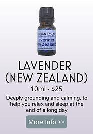 new zealand lavender essential oil - australian essences