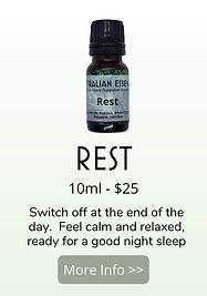 rest essential oil blend - australian essences