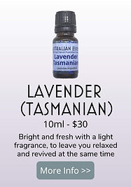 tasmanian lavender essential oil - australian essences