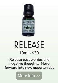 release essential oil blend - australian essences