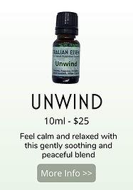 unwind essential oil blend - australian essences