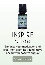 inspire essential oil blend - australian essences