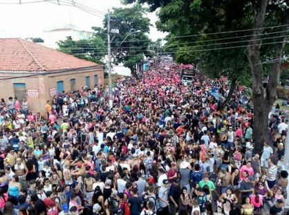 Folia com blocos e banda ao vivo animam o Carnaval de Paulínia
