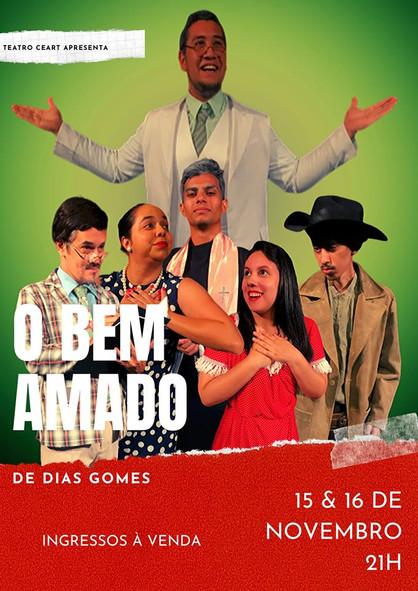 """Festival de Teatro do Ceart traz clássico da dramaturgia """"O Bem Amado"""""""