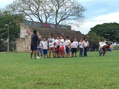 Projeto social de rugby em Paulínia completa 2 anos e busca doações para 2020