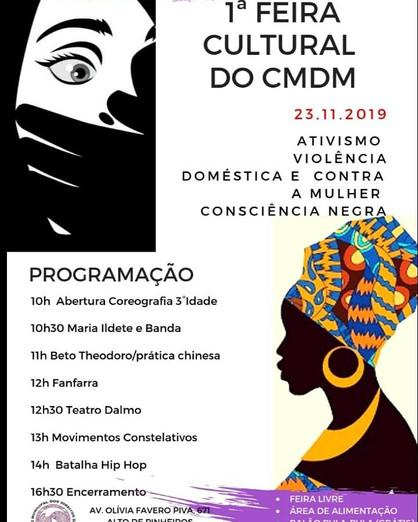 Conselho Municipal dos Direitos da Mulher realiza 1ª Feira Cultural do CMDM