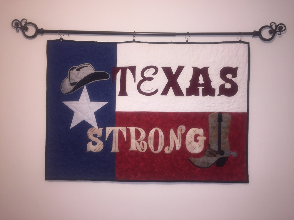 My Texas Strong Pattern completed by Nancy Chocek