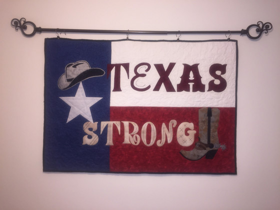A Completed TEXAS STRONG by Nancy Chocek