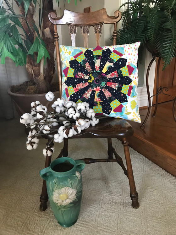 Whimsey Wedge Pillow #2