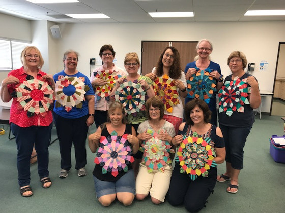 Whimsey Dresden Workshop at Antelope Valley Quilt Guild