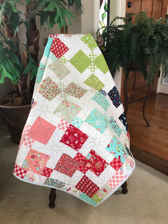 The Perfect Quick & Easy Baby Quilt