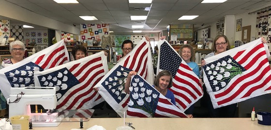 Workshop with Orange County Quilt Guild
