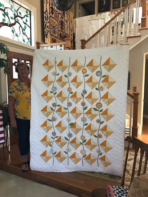 Kandy's Quilt is Finished