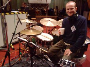 recording for BBC in Maida Vale Studio, London