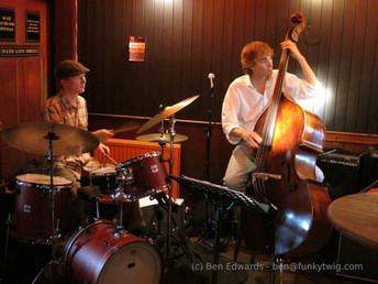 jazz at The Coronation Tap, Bristol, UK