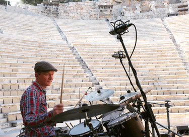 soundcheck at The Acropolis