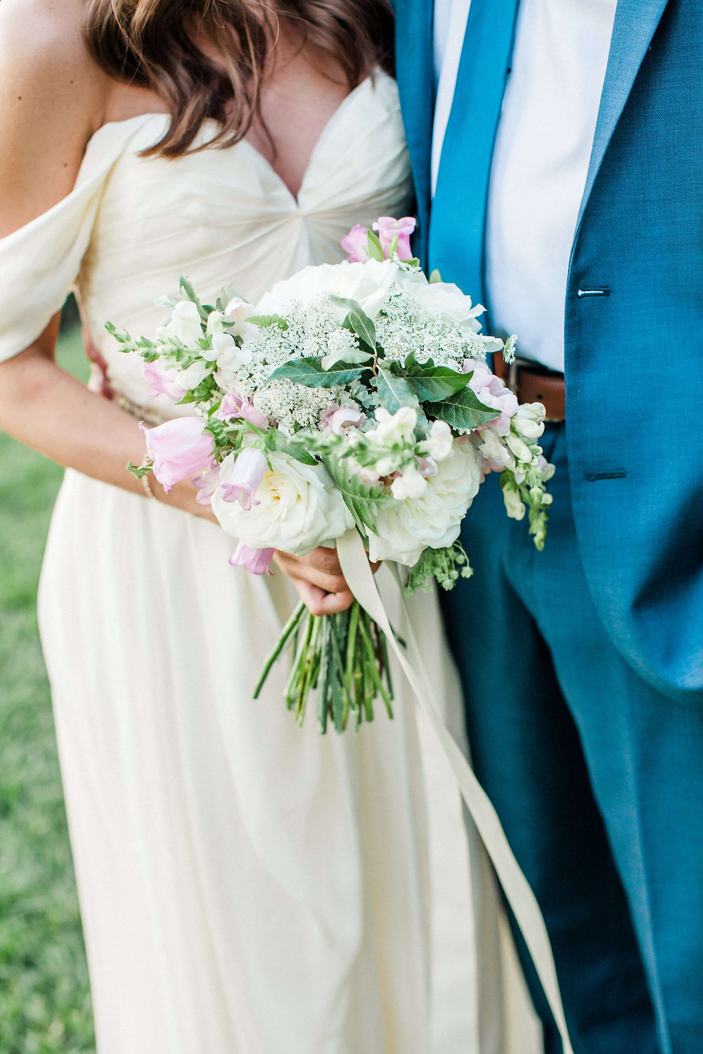 Maryland summer wedding bouquet