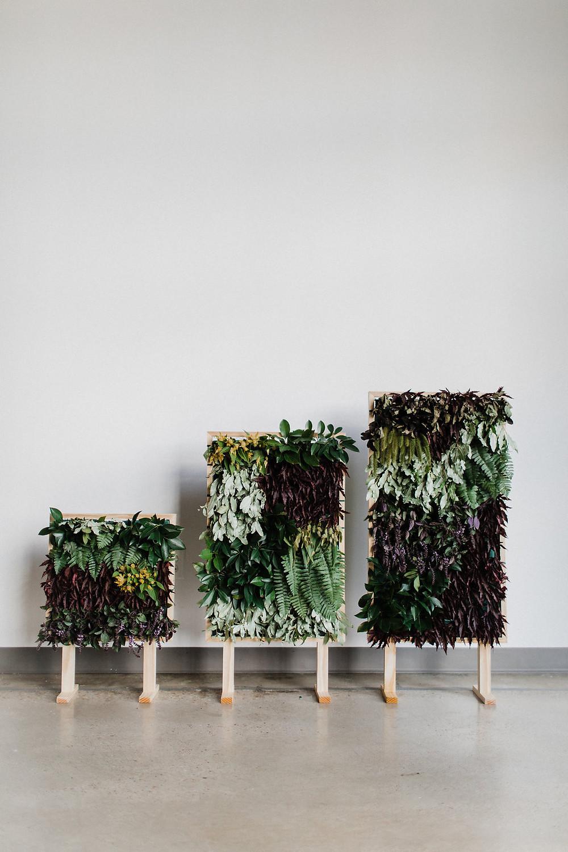 living plant tapestry wedding