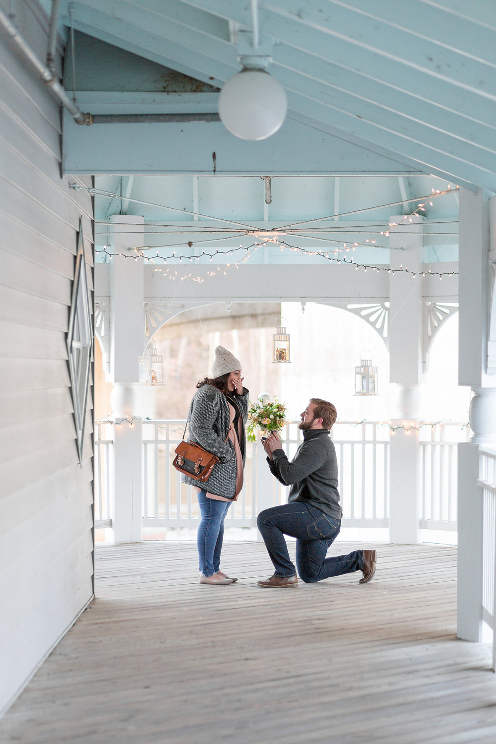 occoquan proposal down on one knee