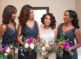 Colorful Winter Wedding at Josephine Butler Parks Center