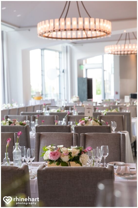 le meridien arlington pink and white wedding