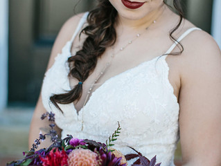 Colorful Birkby House Fall Wedding